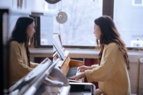 Muziek les